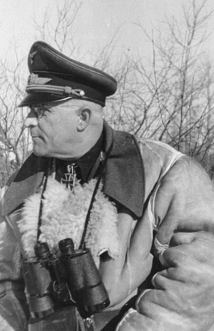 Роберт Грейм на Восточном фронте. 1942 г.
