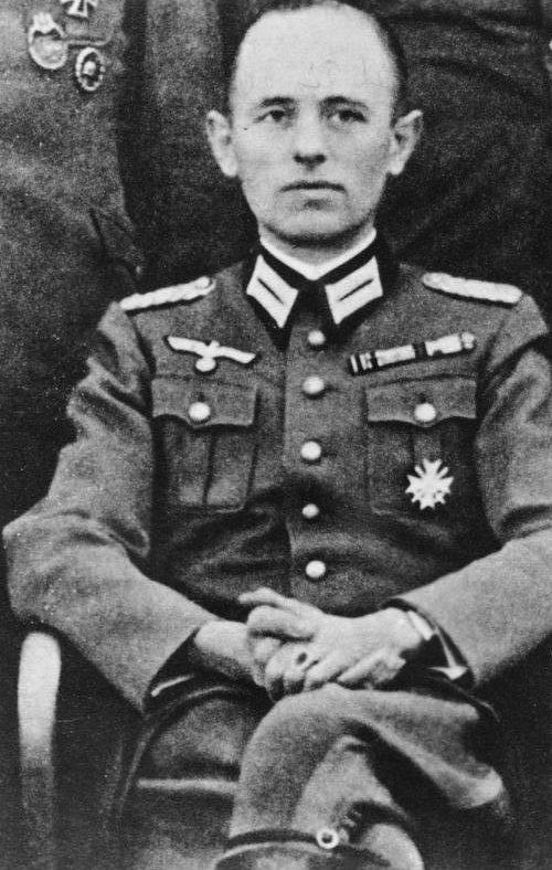 Рейнгард Гелен. 1942 г.