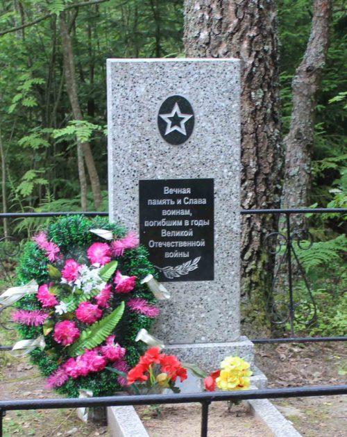 д. Заозерье Чериковского р-на. Братская могила советских воинов.
