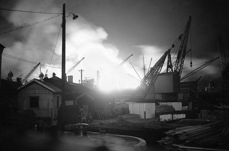 Утро после налета на Суррейские Доки. 7 сентября 1940 г.