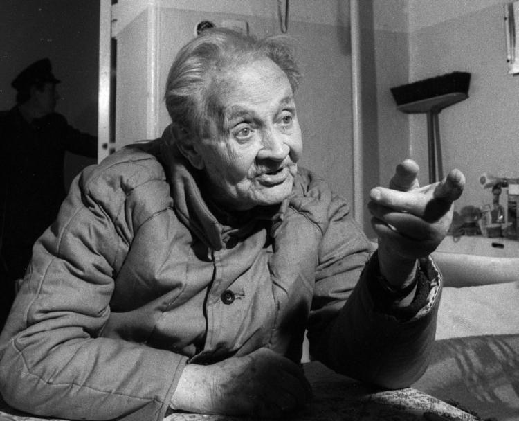 Эрих Кох в тюрьме Польши. 1986 г.