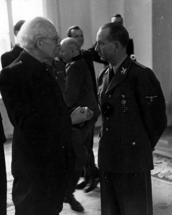 Отто Дитрих. 1944 г.