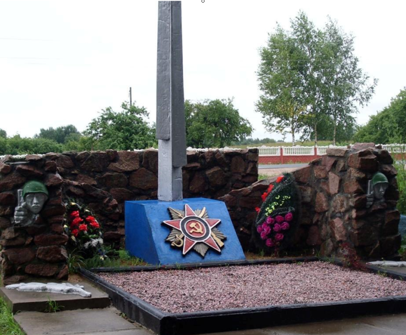 д. Селец Мстиславского р-на. Памятник установлен в 1987 году на братской могиле, в которой похоронено 3 неизвестных советских воина, погибших в годы войны.