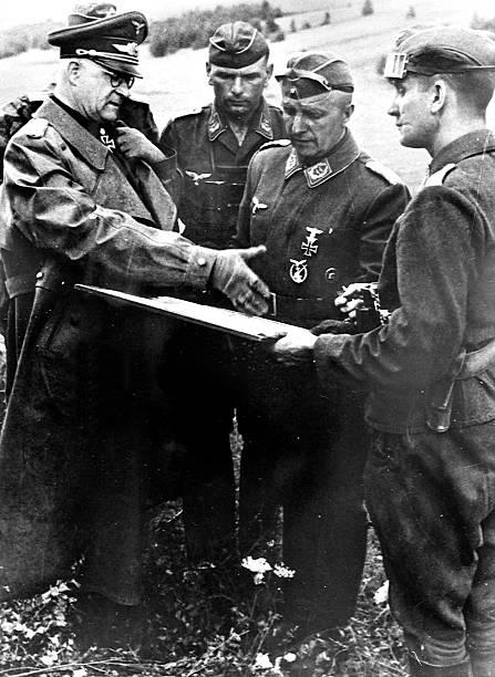 Роберт Грейм на Восточном фронте. 1943 г.