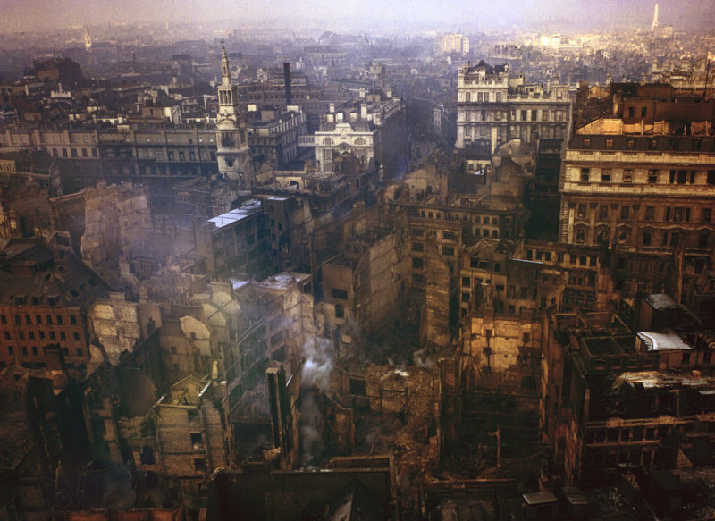 Улицы Лондона. 8 сентября 1940 г.