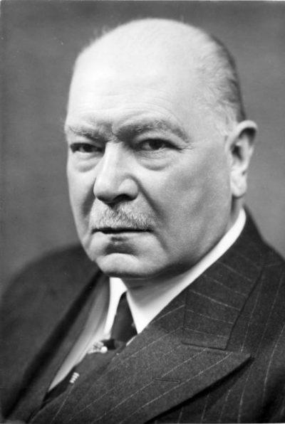 Генрих Дорпмюллер. Рейхсминистр путей сообщения.