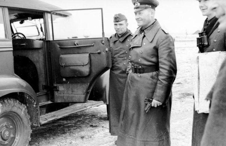 Эрих Гёпнер на Восточном фронте. 1941 г.