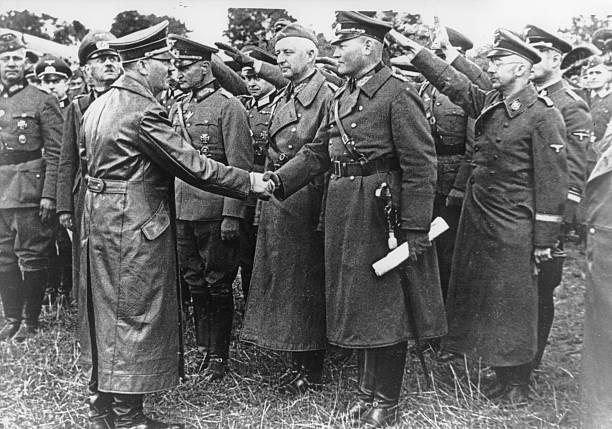 Эрих Гёпнер и Адольф Гитлер. 1941 г.