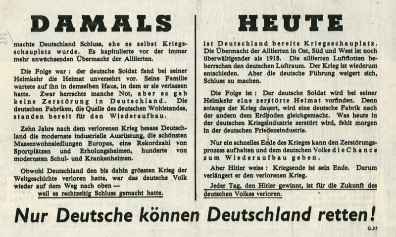 Только немцы могут спасти Германию!