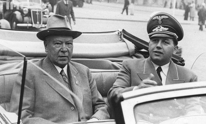 Генрих Дорпмюллер и Йозеф Бюлер. 1942 г.