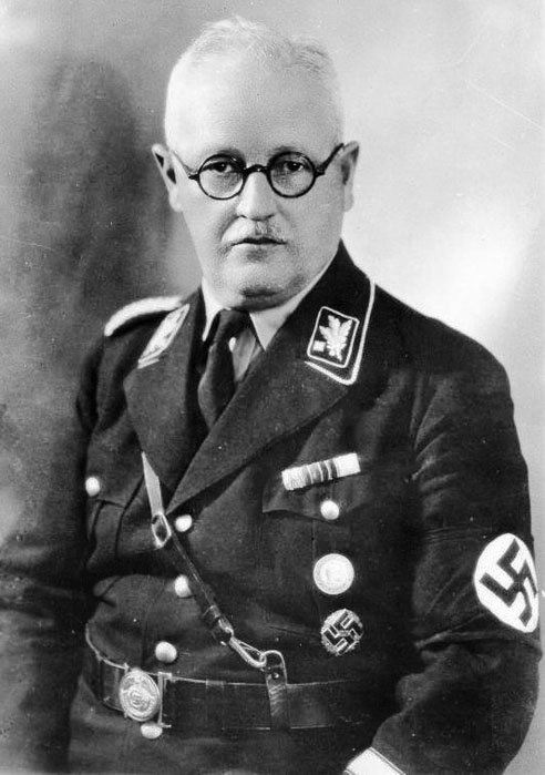 Франц Шварц. Заведующий финансами НСДАП.