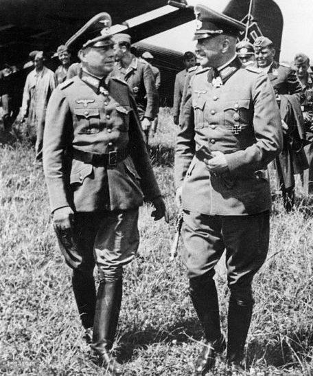 Вальтер фон Браухич на Восточном фронте. 1941 г.