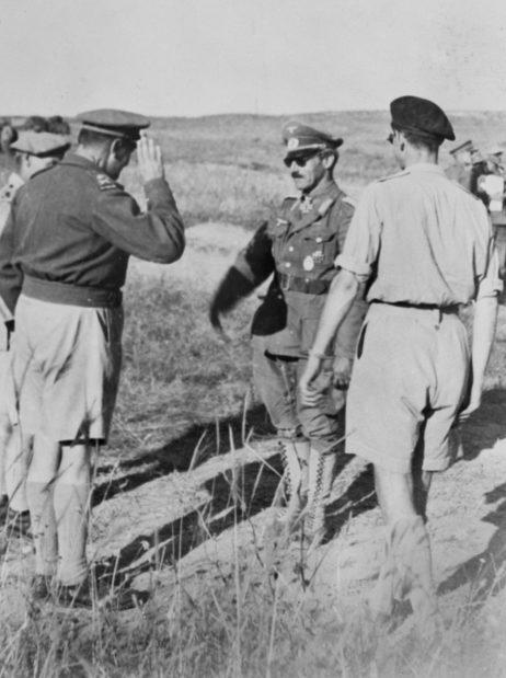 Ганс Юрген Арним в Северной Африке. 1943 г.