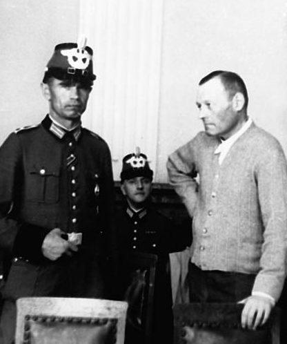 Эрих Гёпнер в нацистском суде. 1944 г.