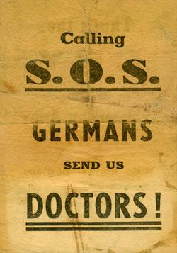 1-я американская армия вызывает докторов!
