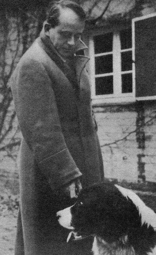Альберт Шпеер незадолго до своего ареста. 1945 г.