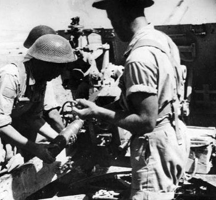 Доставка листовок немцам. Ливан, 1943 г.