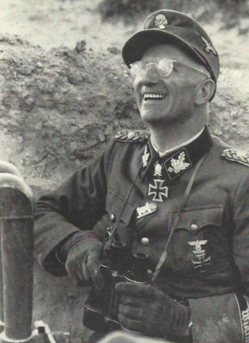Герберт Гилле на фронте. 1942 г.