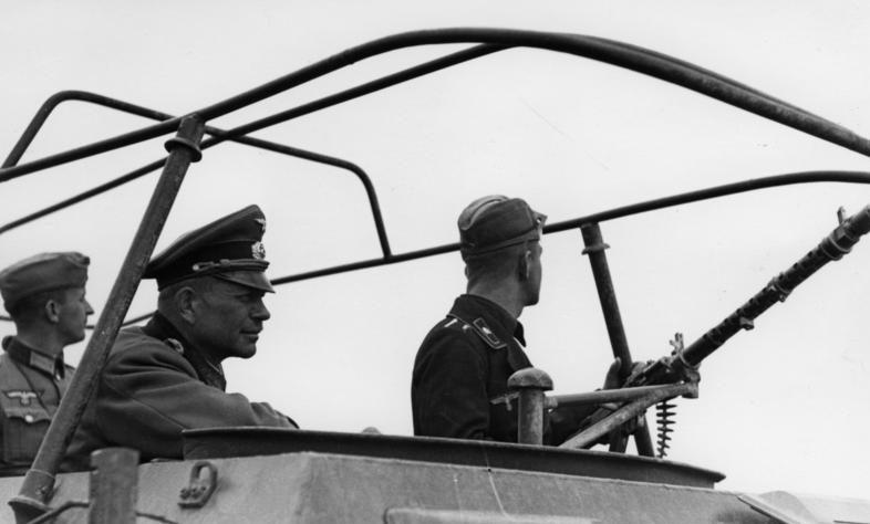 Гейнц Гудериан. Франция. 1940 г.