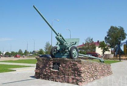 г. Горки. Памятник воинам 33 й и 49 й армий, освободившим от немецко-фашистских захватчиков город и район в сентябре 1943 - июне 1944 гг.