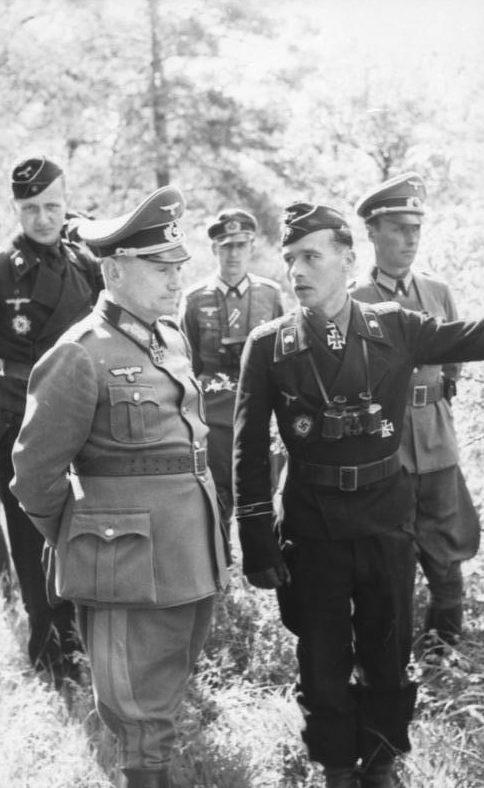 Брейт Герман на Восточном фронте. 1943 г.