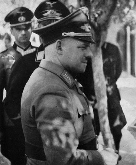 Фриц Заукель в Украине. 1942 г.