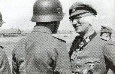 Герберт Гилле на Кубани. 1942 г.