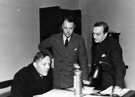 Иоганн Шверин. 1945 г.