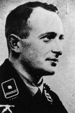 Адольф Эйхман Руководитель отдела Гестапо РСХА.