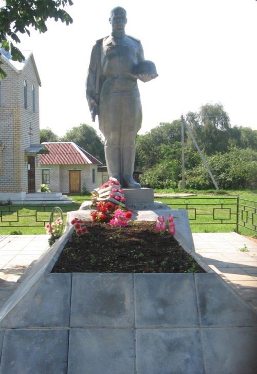 д. Лапичи Осиповичского р-на. Памятник был установлен в 1964 году на братской могиле, в которой похоронено 68 советских воинов, в т.ч. 30 неизвестных, погибших в годы войны.