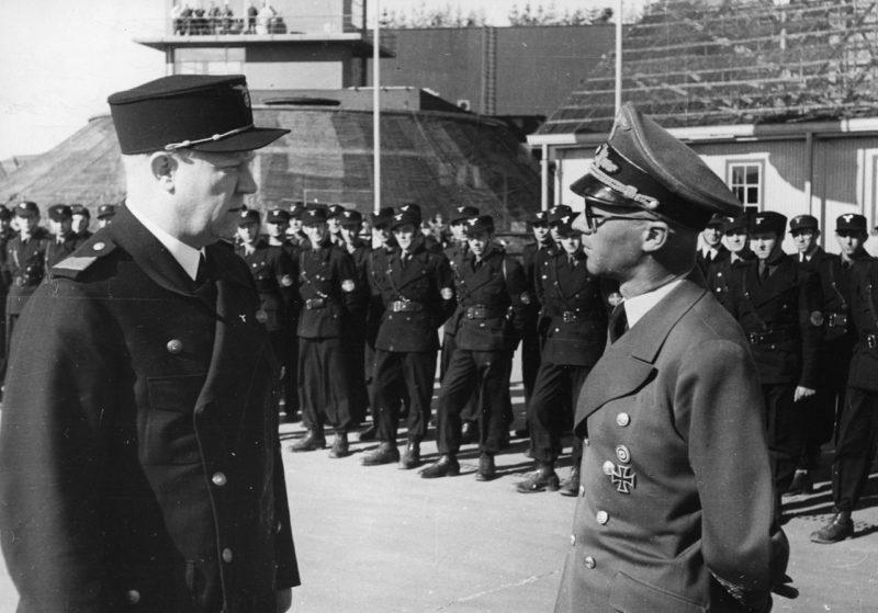 Йозеф Тербовен и Видкун Квислинг. 1942 г.