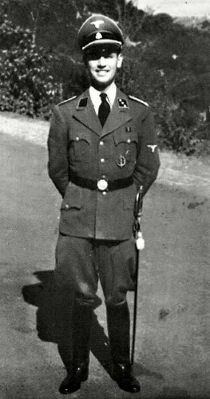 Вальтер Шелленберг. 1939 г.