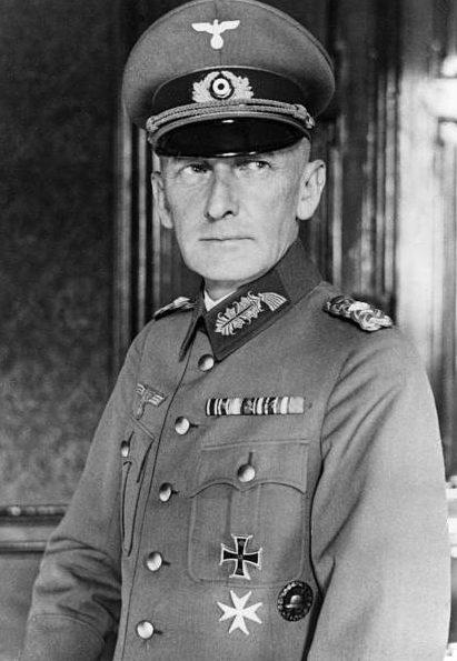 Эрвин фон Вицлебен. Генерал-фельдмаршал.