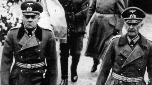 Эрвин фон Вицлебен и Людвиг Бек. 1938 г.