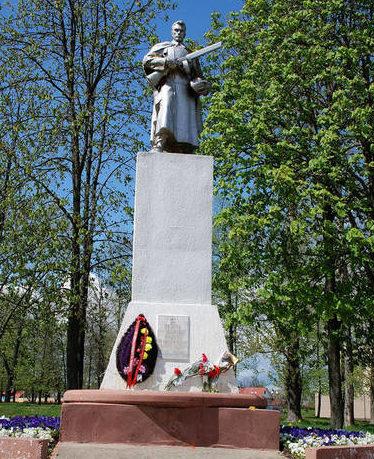 г. Бобруйск. Памятник воинам 1-го Белорусского фронта.