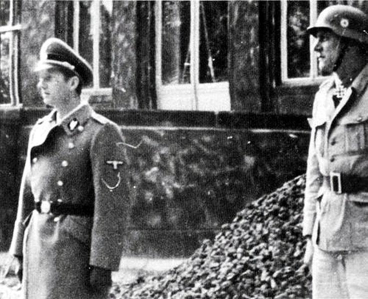 Вальтер Шелленберг. 1943 г.