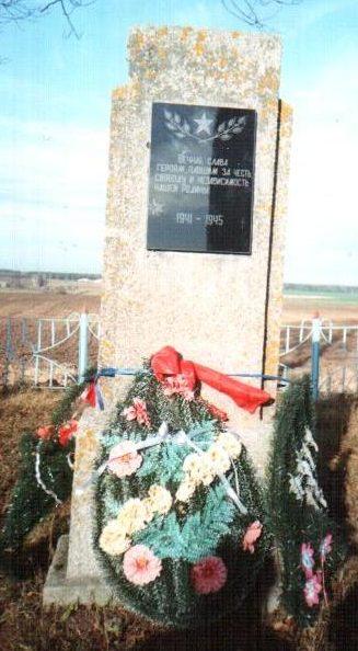 д. Малиновка Осиповичского р-на. Памятник был установлен в 1970 году на братской могиле, в которой похоронено 37 советских воинов, в т.ч. 29 неизвестных, погибших в годы войны.