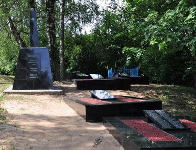 г. Шклов. Памятник жертвам Холокоста на Старом еврейском кладбище.
