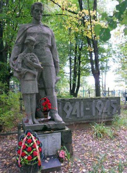 д. Красница Чаусского р-на. Братская могила советских воинов.