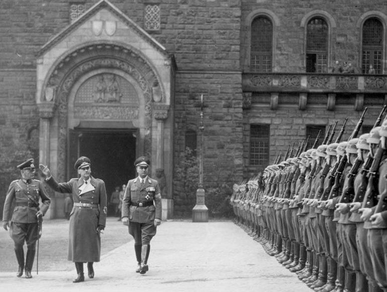 Вильгельм Фрик в Познани. 1939 г.