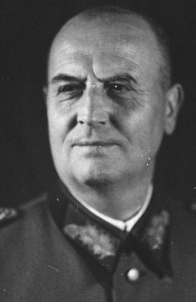 Вальтер Буле. Генерал пехоты.