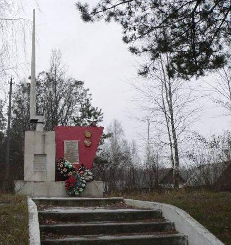 г. Бобруйск. Мемориальный знак 108-й ордена Ленина Краснознаменной стрелковой дивизии.