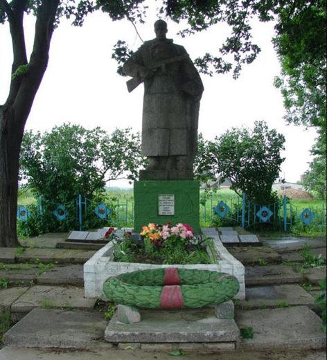 д. Кузьминичи Чаусского р-на. Воинское захоронение, в котором похоронено 1839 воинов.