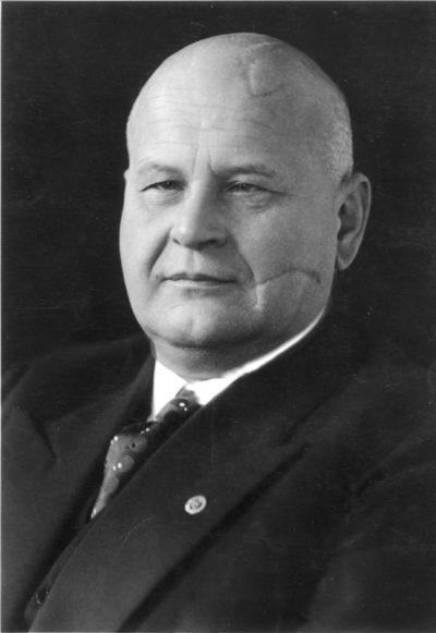 Отто Тирак. Министр юстиции Третьего рейха.