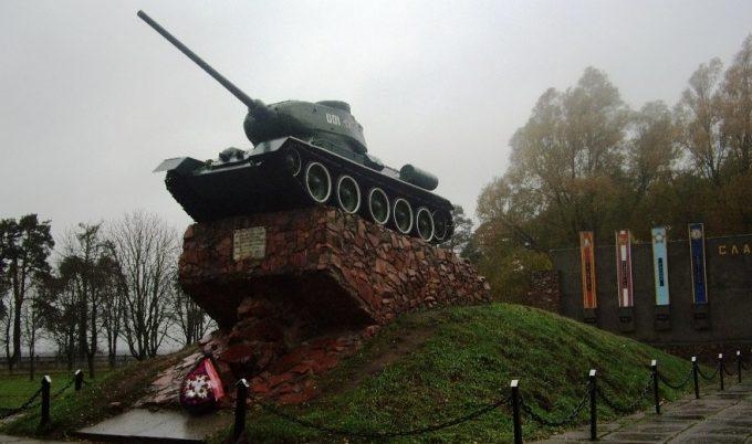 г. Бобруйск. Мемориал боевой славы в честь танкистов-днепровцев.