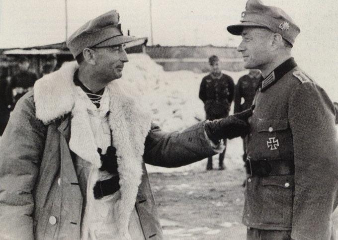 Эдуард Дитль. Финляндия. 1943 г.