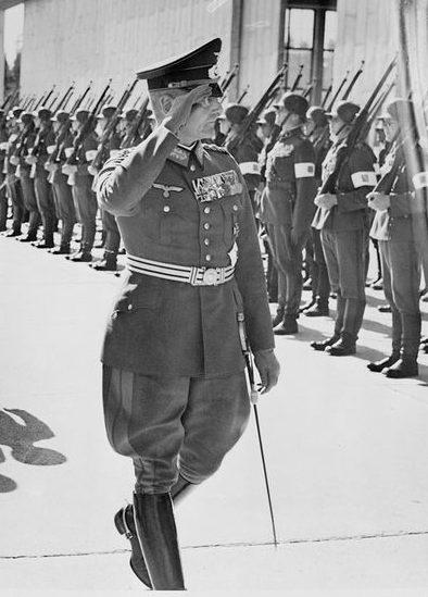 Франц Гальдер. 1939 г.