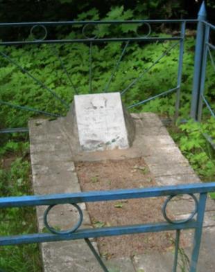 д. Павловка Чаусского р-на. Братская могила советских воинов.