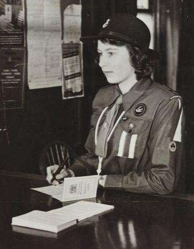 Принцесса Елизабет. Октябрь 1942 г.