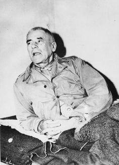 Вильгельм Фрик в Нюрнберской тюрьме. 1945 г.
